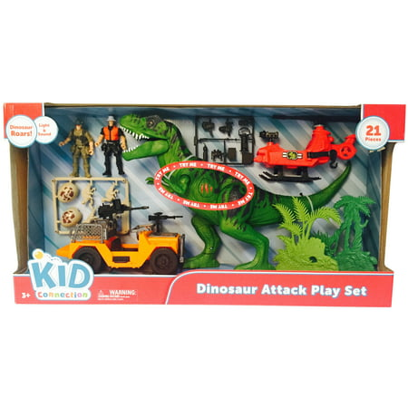 Kid connection dino attack play set