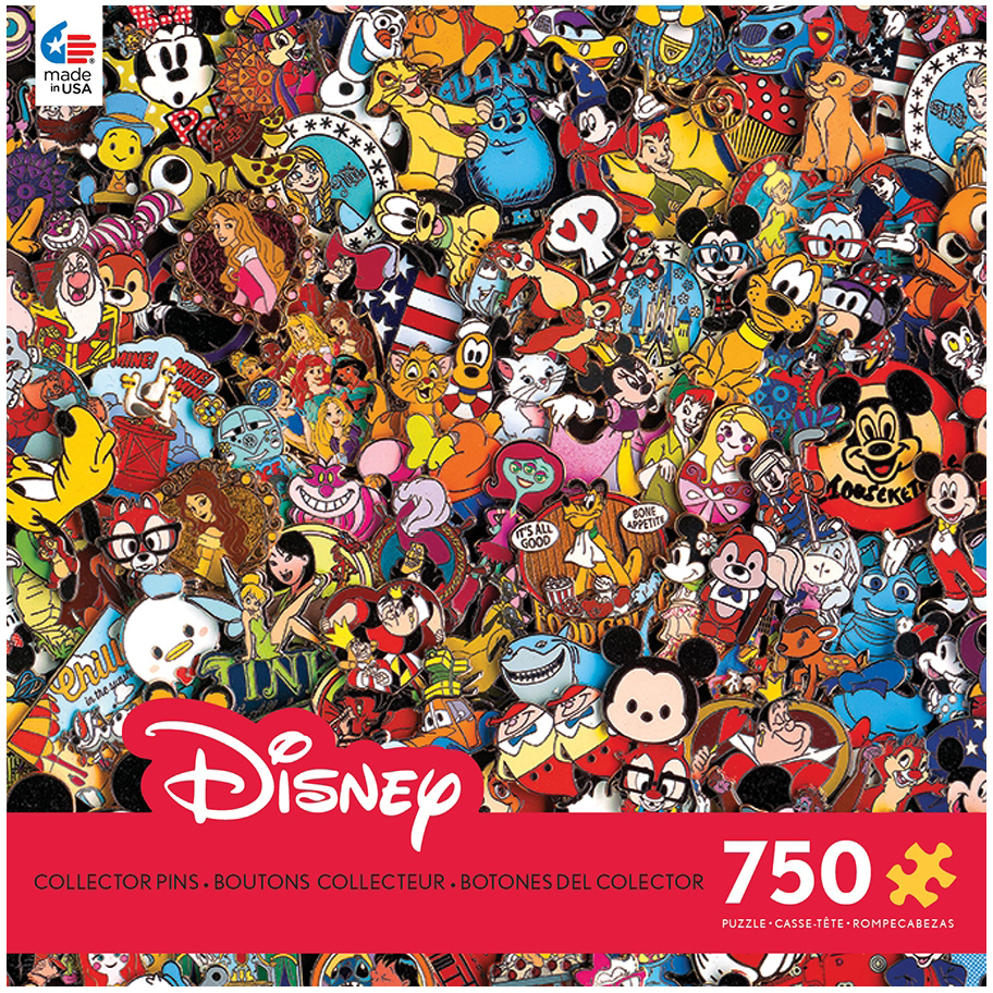 Disney Collections Collector Pins, 750pc