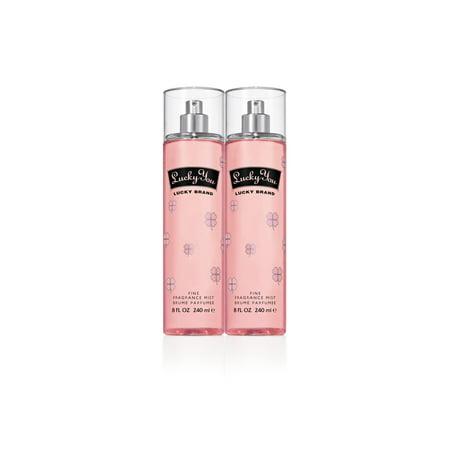Lucky You Fine Fragrance Mist Spray Duo For Women  8 0 Fl Oz Each