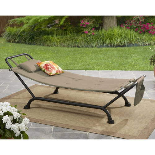 Mainstays Belden Park Hammock with Stand by Courtyard Creations Inc