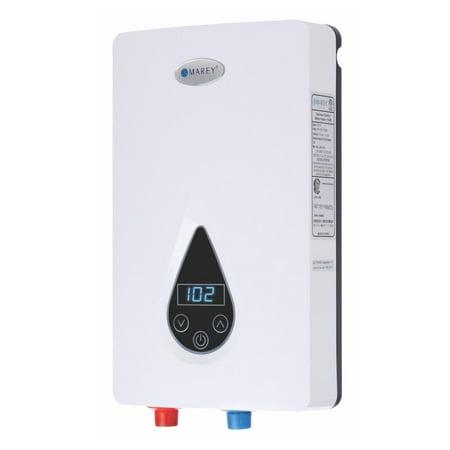 Marey Refurbished 3 GPM 240v Digital Display Electric Tankless Hot Water Heater ()