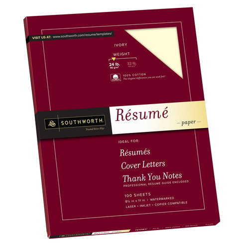 southworth cotton resume paper ivory walmart