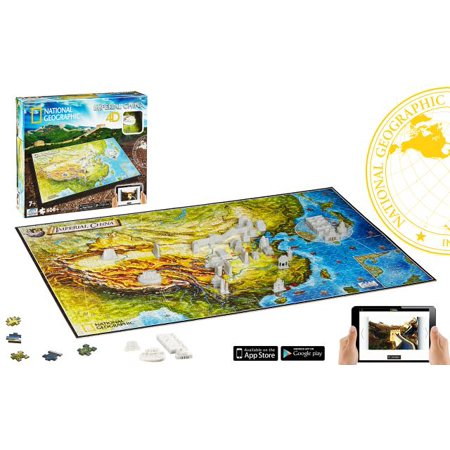 4D National Geographic Ancient China Jigsaw