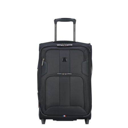 delsey skymax exp. 2 wheel carry on black