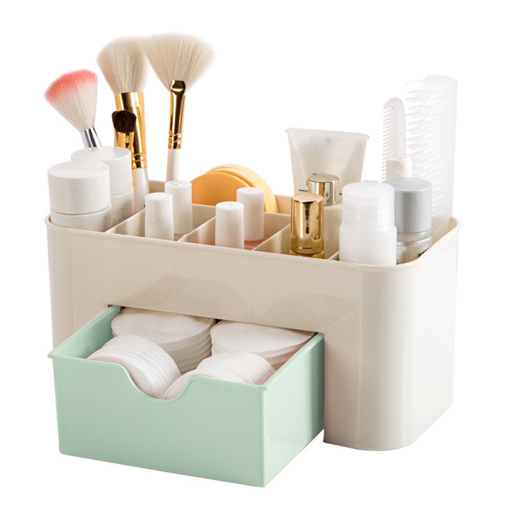 Makeup Storage Box Cosmetics Case Lipstick Small Box Desktop Organizer Jewelry Container Holder
