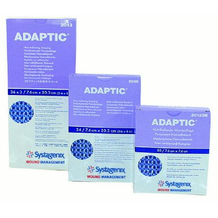 Adaptic Non Adherent Dressing  3 X 3 Inch Sterile Box of (Non Sterile Post)