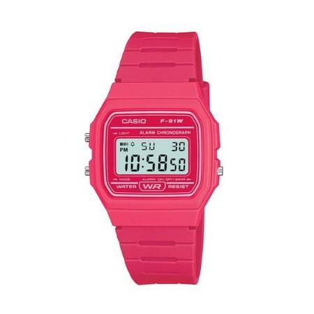 Casio Digital Water Resistant Watch - Casio F91WC-4A
