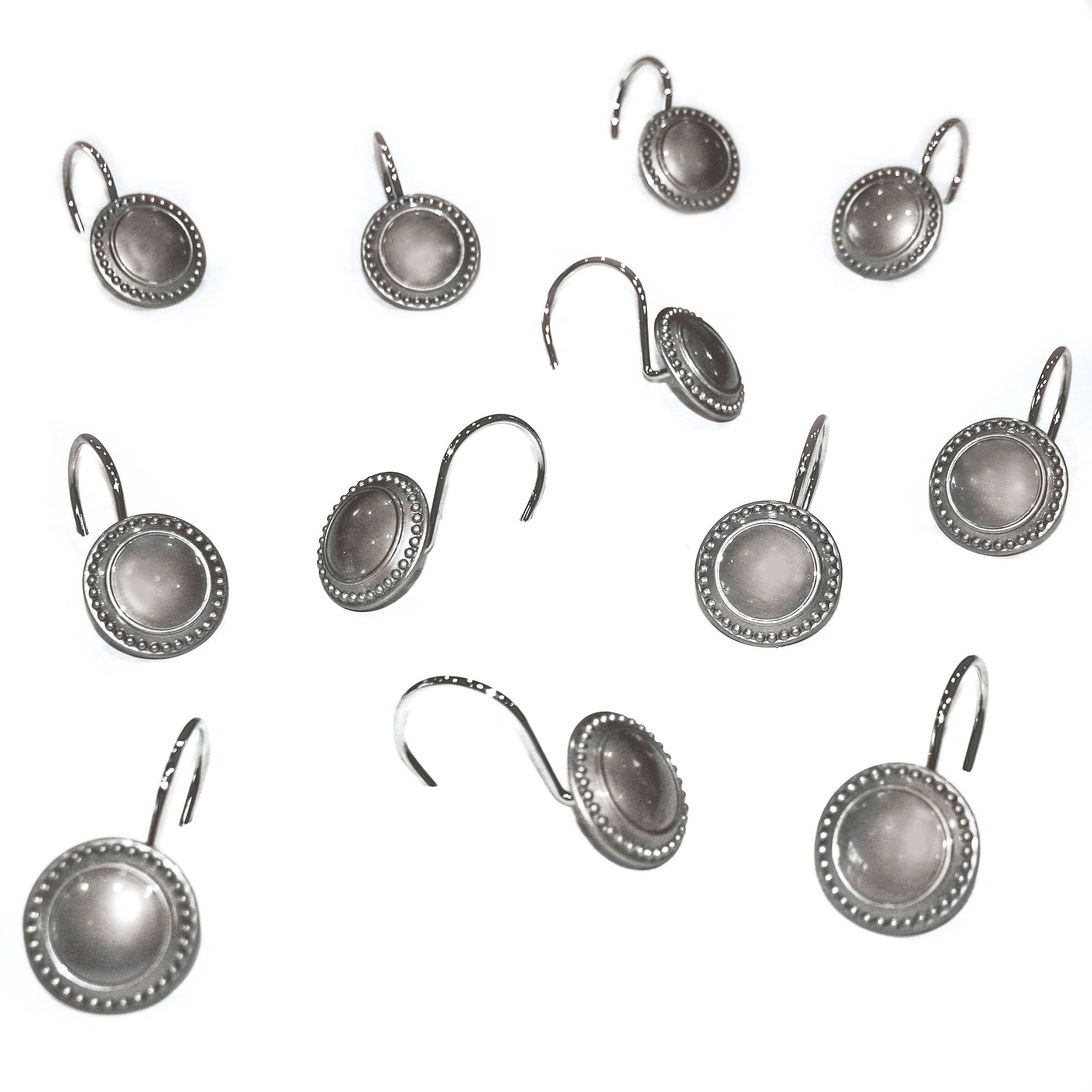 Better Homes and Gardens Metal Decorative Accessories - 12 Piece Shower Hooks