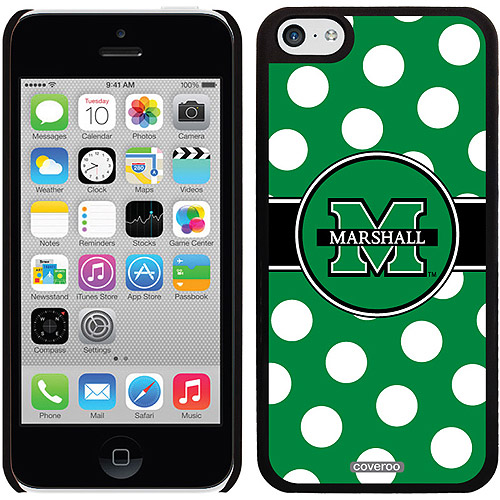 Marshall Polka Dots Design on iPhone 5c Thinshield Snap-On Case by Coveroo