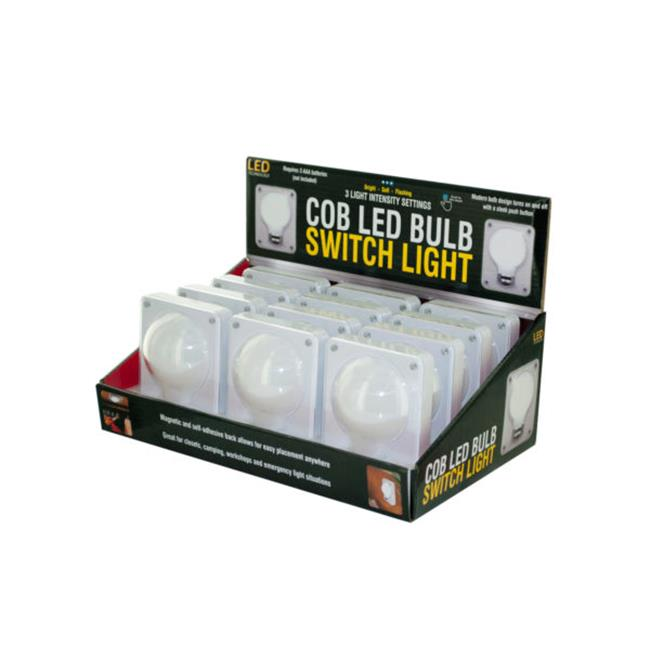 Kole Imports OT415-12 12 lbs, COB LED Bulb Switch Light Countertop Display - image 1 of 1