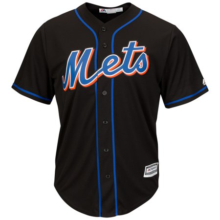 Mike Piazza New York Mets MLB Cooperstown Black Replica Jersey by