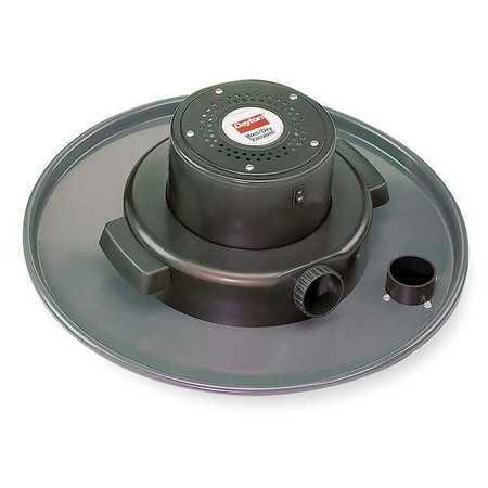 DAYTON Wet/Dry Vacuum,55-Gal Metal Lid, Vac Head Assy,4. Peak HP 4YE63