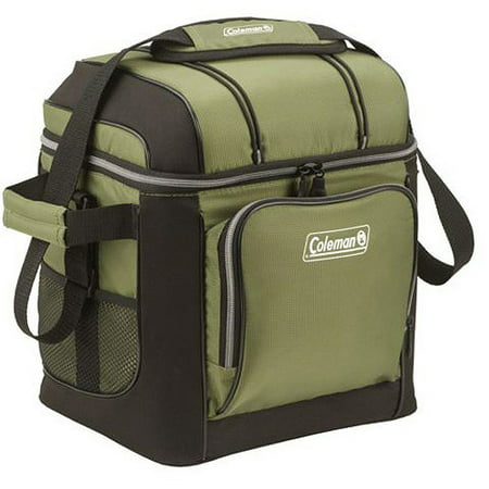 Coleman 30 Can Soft Cooler With Removable Liner Green