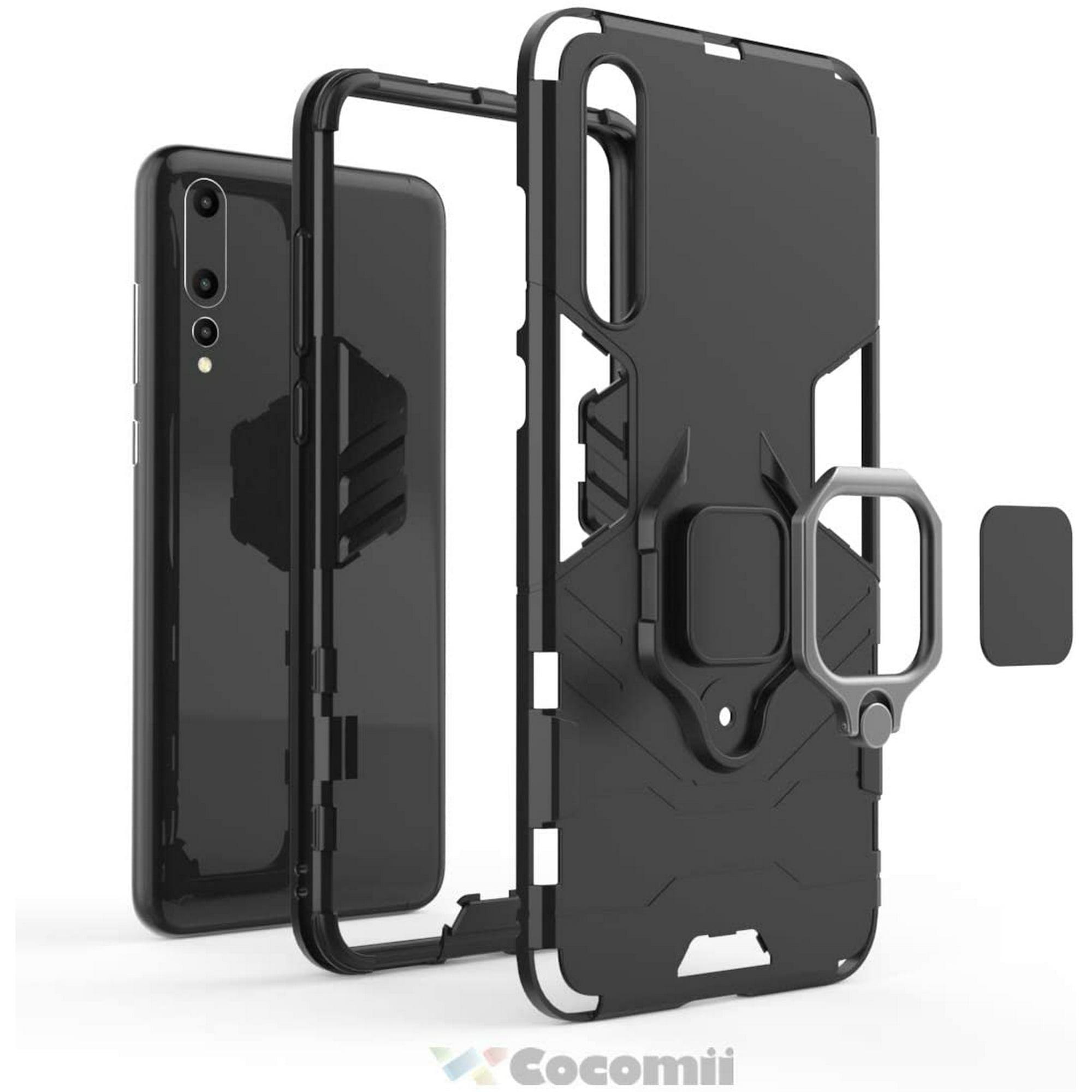 Cocomii Black Panther Ring Huawei P20 Pro Coque Svelte Mince Mat Kickstand Verticale /& Horizontale Poign/ée Annulaire Case Bumper Cover /Étui Housse Compatible with Huawei P20 Pro Jet Black