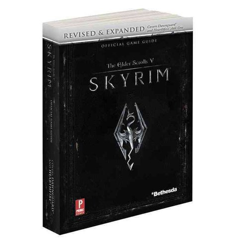 Elder Scrolls V: Skyrim: Prima Official Game Guide [With Map]