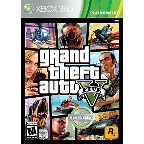 Refurbished Grand Theft Auto V GTA For Xbox 360