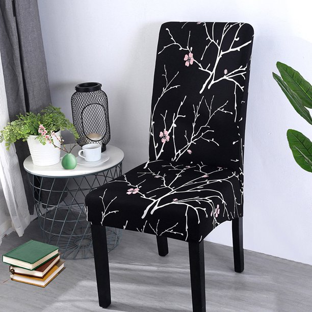 Chair Cover Strech Dining Chair Slipcovers Washable Removable Spandex Kitchen Room Chair Seat Covers Walmart Com Walmart Com
