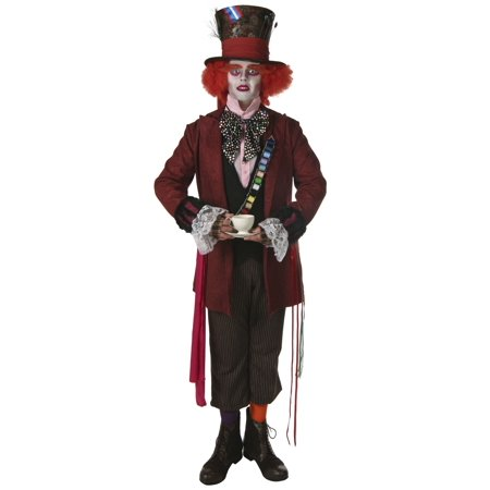 Men's Authentic Mad Hatter Costume](Men Mad Hatter Costume)