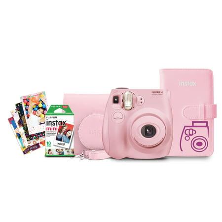 Mini Autopole - Fujifilm Instax Mini 7s Bundle - Light Pink