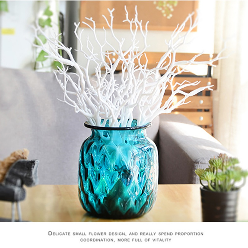 Dried Artificial Plant Tree Branches Stem Vase Home Flowers Decoration 3 Pcs