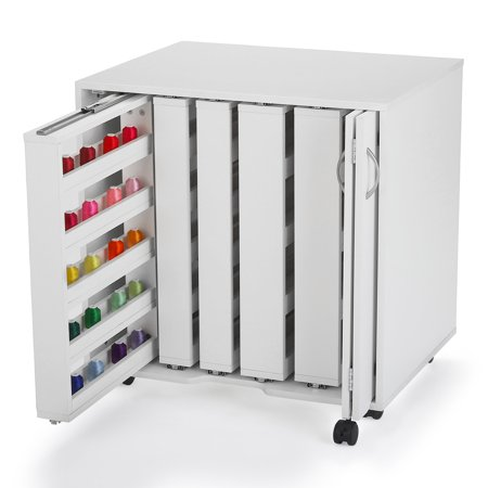 Arrow Mod Squad 5 Thread Sewing And Craft Storage Cabinet White