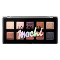 NYX Professional Makeup Love You So Mochi Eyeshadow Palette, Sleek and Chic