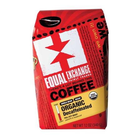 Equal Exchange Organic Decaf Breakfast Blend Whole Bean Coffee, 12 (12 Ounce Ribeye Steak)
