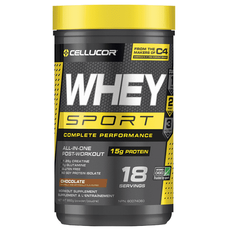 Cellucor Whey Sport, Whey Protein Powder, Chocolate, 1.8lb, 18 Servings