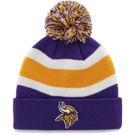 Fan Favorite - Breakaway Beanie with Pom, Minnesota Vikings