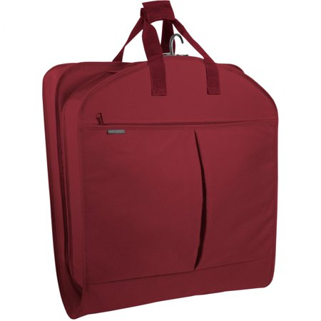 """Wally Bags 40"""" Suit Length Garment Bag w/ Two Pockets"""