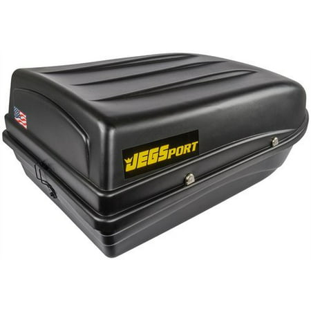 JEGS 90097 Rooftop Cargo Carrier Capacity: 9 cu. ft. 100 lb. Carrying Capacity