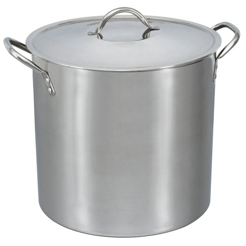 Mainstays 16 Qt Stainless Steel Stock Pot With Metal Lid