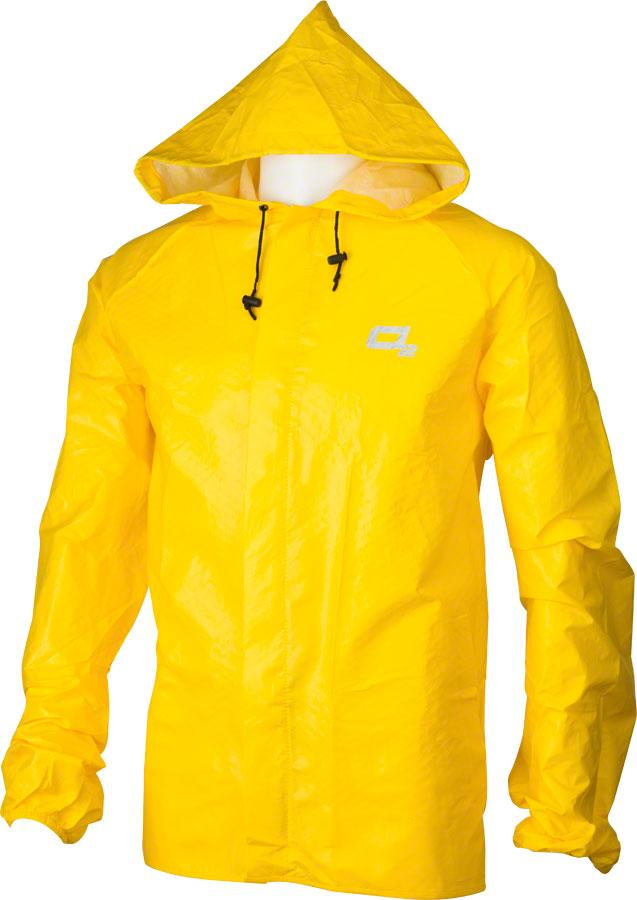 O2 Element Series Hooded Rain Jacket w Pockets by RAIN SHIELD