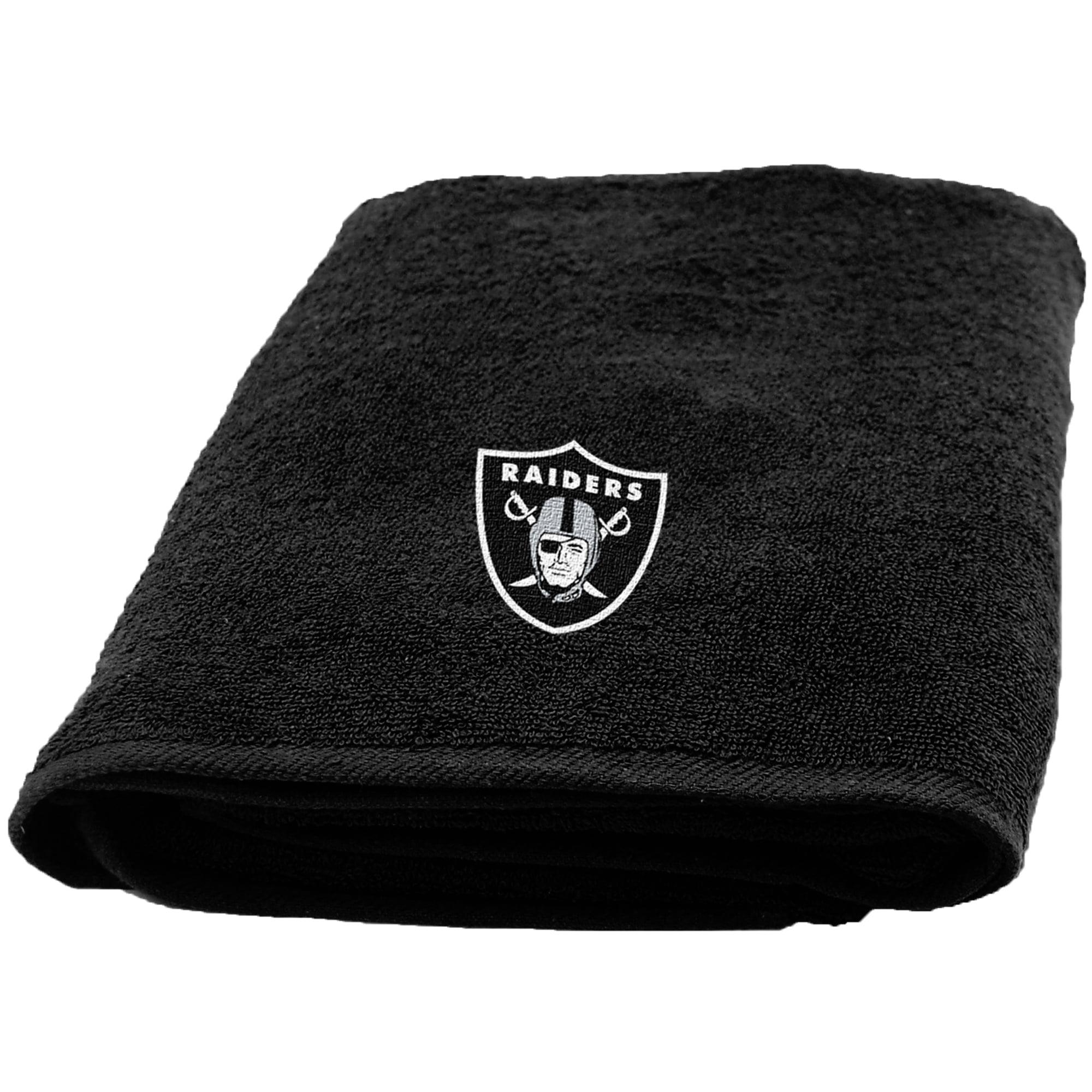 NFL Oakland Raiders Bath Towel, 1 Each