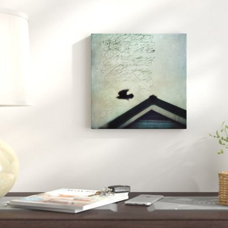 Red Barrel Studio 'This Roof Is My Home' Graphic Art Print on Canvas