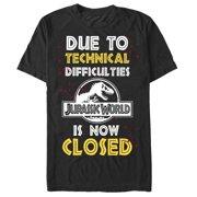 Jurassic World Men's Technical Difficulties T-Shirt