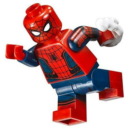 Lego Marvel Super Heroes Minifigure   Spider Man With White Power Blast  76083