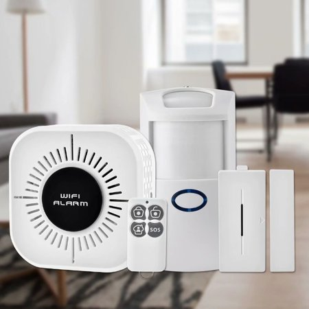 Noroomaknet Home Security System Wireless Wifi Alarm