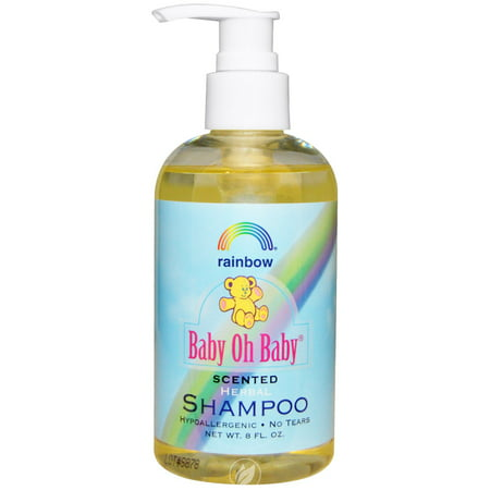 Rainbow Research Baby Shampoo Scented 8 Ounce, Pack of