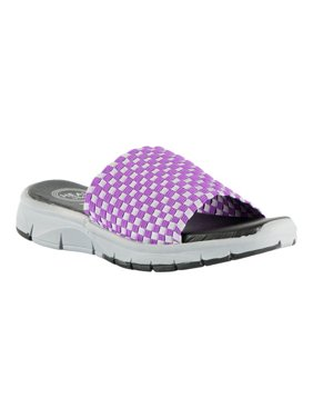 purchase cheap 50912 c3b16 Product Image Women s Heal USA Jager Woven Slide. Product Variants  Selector. Lavender Light Purple Black Sparkle