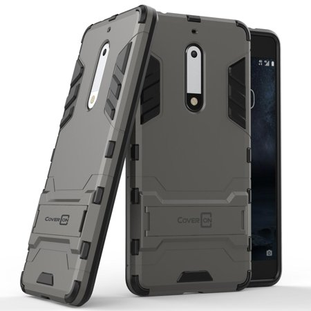 detailed look 9494b b066c CoverON Nokia 5 Case, Shadow Armor Series Hybrid Kickstand Phone Cover