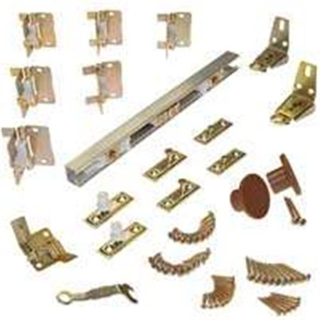 - 1700606H 4 Door Bifold Hardware Set,60 In.