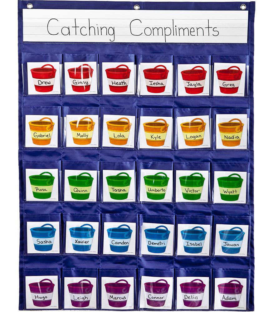 Carson-Dellosa Positive Reinforcement Pocket Chart 1 pocket chart, 30 cards by CARSON-DELLOSA PUBLISHING