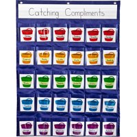 Carson-Dellosa Positive Reinforcement Pocket Chart 1 pocket chart, 30 cards