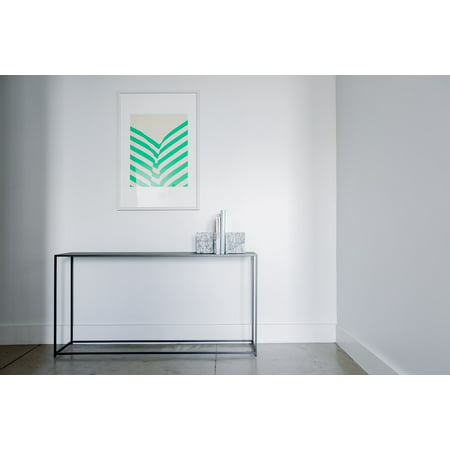 LAMINATED POSTER Table Frame Aesthetic Wall White Poster 24x16 ...