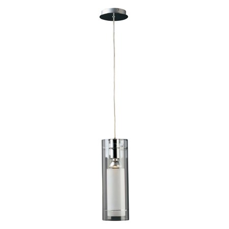 ET2 Frost 1 Light Pendant - 5.5W in. Polished - 55w Pendant