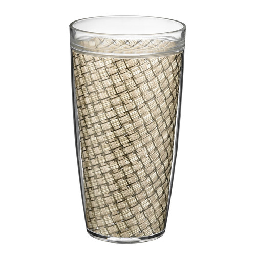 Kraftware Woven Everyday Tumbler (Set of 4)