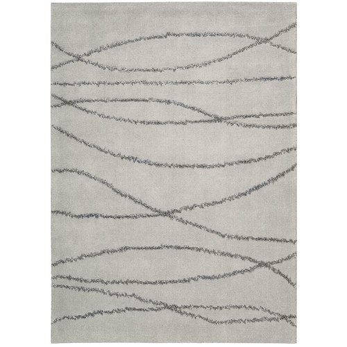 Joseph Abboud Rug Collection Monterey Hand-Woven Gray/Seafoam Area Rug