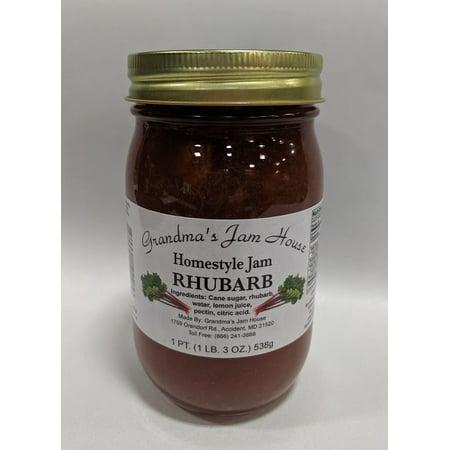 Rhubarb Jam - Grandma's Rhubarb Jam