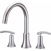 Ultra Faucets UF65103 Brushed Nickel 2-Handle Contemporary Roman Tub Faucet